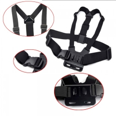 Adjustable Harness Chest Belt Strap Mount Accessory Holder Strap for GoPro Go Pro HD Hero 1 2 3 3+ 4 SJ4000 Xiao Mi Yi