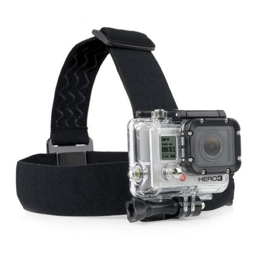 Adjustable Head Strap Mount Belt With Anti Slide Glue for Xiao Mi Yi GoPro Go Pro HD Hero SJ4000 Sport Action Camera Accessory