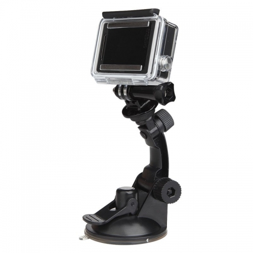 Action Camera DVR Suction Cup Holder Mount Stand Tripod Monopod for Gopro Go Pro Xiao Mi Yi SJcam SJ4000 Sport Cam Accessories