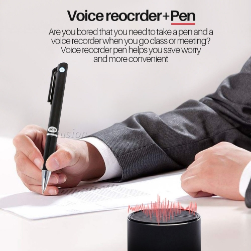 Professional 8GB Digital Voice Recorder Remote HD Recording Pen Audio Recorder Noise Reduction Mini Justice Obtain Evidence Tool
