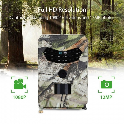 Hunting Mini Camera Tail Cam PR-100 Digital Hunt Game Video HD Ghost IP56 Waterproof 26pcs IR LEDs Night Vision Trail Outdoor