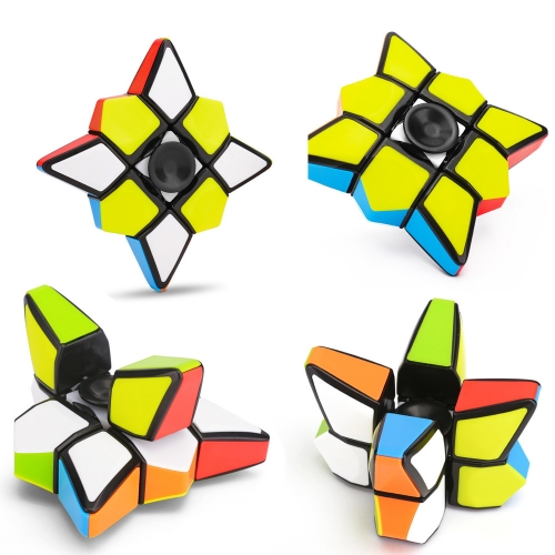 Fingertip Gyro Magic Cube Puzzle Toy