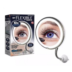 10X Magnifying Makeup Mirror Cosmetic Magnification Light with 360 Degree Swivel
